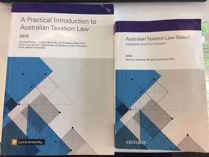 Australian Taxation Law Select 2016