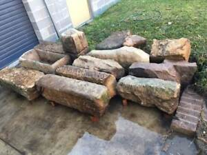 sandstone blocks Botany Botany Bay Area Preview