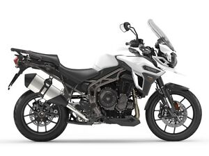 2017 Triumph Tiger Explorer XR CrystalWhite