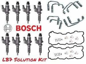 LB7 Duramax Genuine New Bosch injector Solution Kit