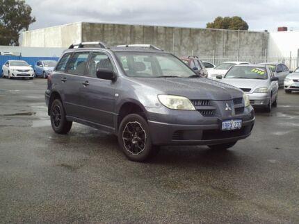 2004 Mitsubishi Outlander Grey Automatic Wagon Embleton Bayswater Area Preview