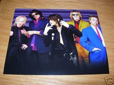 Aerosmith Group Band Promo 8x10 Photo #1 Joe Perry