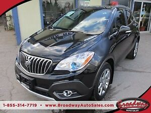 2016 Buick Encore LOADED 'PREMIUM - EDITION' 5 PASSENGER 1.4L -