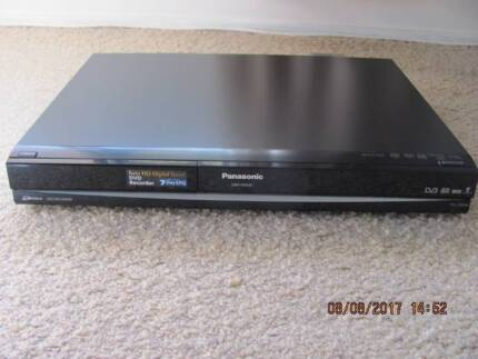 Panasonic DVD Recorder with HDD and Twin HD Tuner