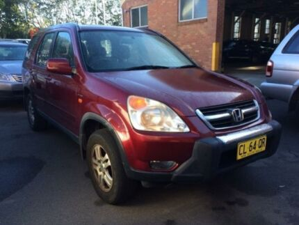 2004 Honda CR-V MY04 (4x4) Sport Red 4 Speed 4 SP AUTOMATIC Wagon