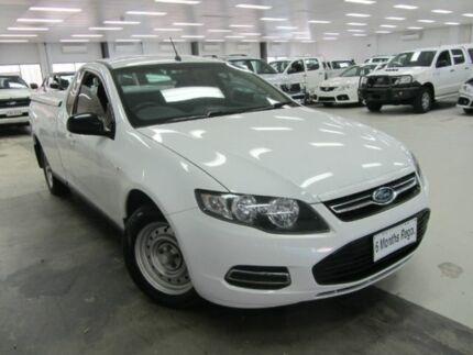 2012 Ford Falcon FG MkII Ute Super Cab White 6 Speed Automatic Utility