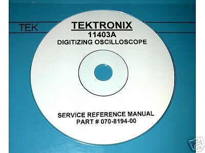 Tektronix 11403a  Service Manual