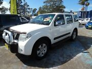 2005 Nissan Pathfinder R51 ST-L (4x4) White 5 Speed Automatic Wagon Homebush West Strathfield Area Preview