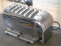 dualit six slice toaster chrome