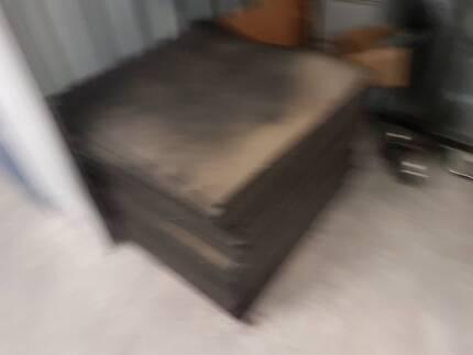 1m by 1m 10mm gym mats