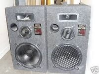 LINEAR PHASE 8812 250WATTS STUDIO MONITORS TECHNICS A600 MK3 AMP TECHNICS CD PLAYER SLPS770A