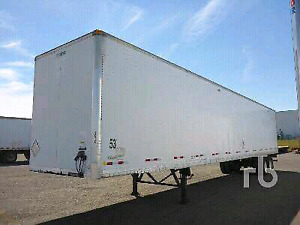2003 MANAC 53 Ft T/A Van Trailer