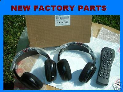 2003 CADILLAC ESCALADE ESV WIRELESS HEADPHONES & REMOTE