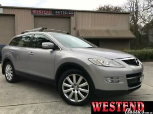 2008 Mazda CX-9 TB10A1 Luxury Silver Auto Sports Mode Wagon Lisarow Gosford Area Preview