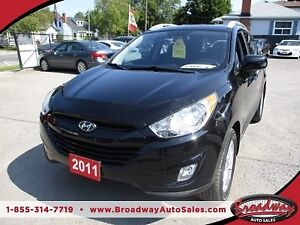 2011 Hyundai Tucson POWER EQUIPPED GLS MODEL 5 PASSENGER 2.4L -