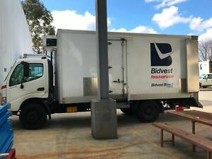 Hino Dutro Refridgerated Truck Fyshwick South Canberra Preview