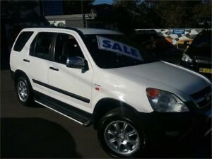 2002 Honda CR-V RD MY2002 4WD White 5 Speed Manual Wagon