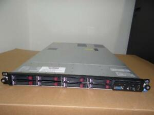 HP DL360p G8 SFF Enterprise Server 2X E5-2680  2.70GHz  16-Cores 192GB 8X900GB-SAS P420/1GB/RAID 2PSU RACK-RAILS