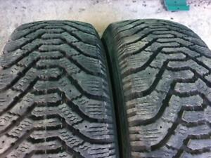 2X 215 70 15 Nordic Winter tires Pneus D`hiver