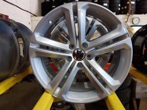 """OEM Volkswagen 18""""  Refinished to Glossy Silver"""