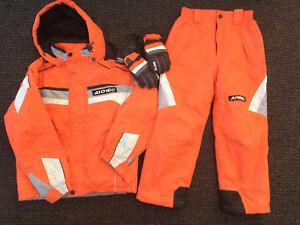 Ski jacket, pants & gloves - boy/girl size6 Whitebridge Lake Macquarie Area Preview