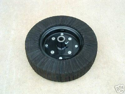 15 Inch Finish Mower Rotary Cutter Tail Wheel With Hub