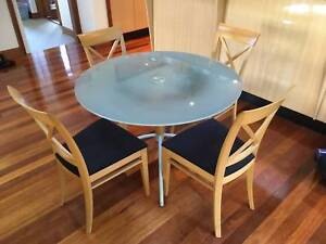 Dining table set with 4 chairs Turramurra Ku-ring-gai Area Preview