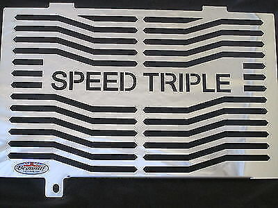 TRIUMPH 955I SPEED TRIPLE 03 04 STAINLESS STEEL RADIATOR  OIL COOLE