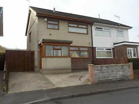 Three Bedroom semi-detached house in Hirwaun