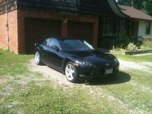 Summer driven only Mazda RX8