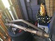 Nissan Navara  d40 550 exhaust in good condition Hillcrest Logan Area Preview