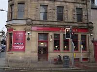 Bar staff required. Perth city centre