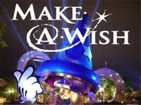 Psychic charity event in aid of make a wish FONDATION