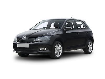 SKODA FABIA mk3 Hatchback or Estate 2014-onwards 4pc Wind Deflectors HEKO Tinted