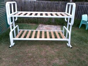 Bunk bed white Richmond Hawkesbury Area Preview