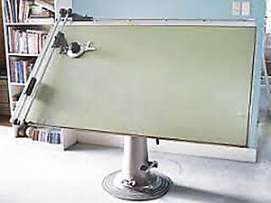Wanted, Pedestal Drafting table