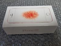 Iphone se rose gold on ee brand new in box