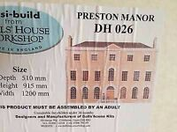 Dolls house preston manor w/t basement