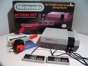 Nintendo Entertainment System Action Set +14 Games $200