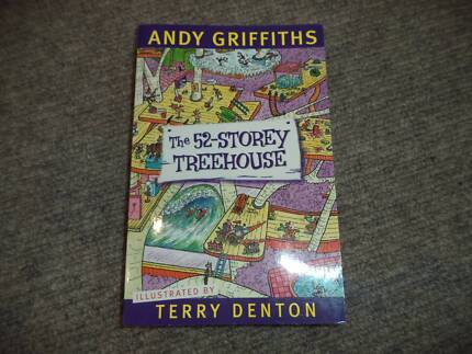 The 52 Storey Treehouse Book Andy Griffiths