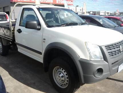 2007 Holden Rodeo TRAY Ute*RENT TO OWN OR FINANCE FROM $38 P/W