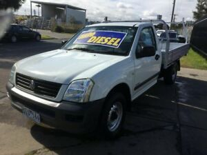2004 Holden Rodeo RA LX 5 Speed Manual Cab Chassis