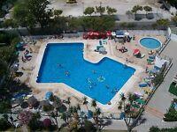 Benalmadena, Costa del Sol, Malaga, Spain. Studio apartment sleeps 2, Sunny balcony. Great location