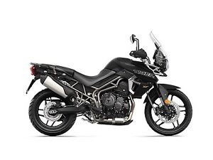 2018 Triumph Tiger 800 XRX Low Matt Jet Black