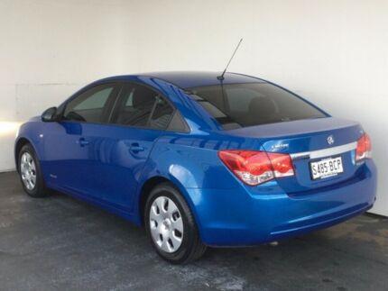 2011 Holden Cruze JH SERIES II MY CD Blue 6 Speed Sports Automatic Sedan
