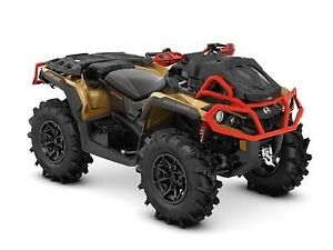 2019 Can-Am Outlander X mr 1000R Gold, Black & Can-Am Red