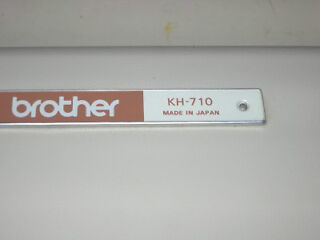 Brother kh710 knitting machine parts or repairs and  instruction manual