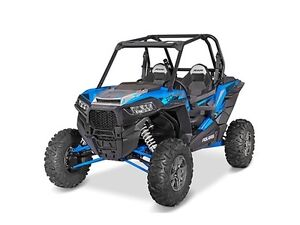 2016 Polaris RZR XP Turbo EPS Velocity Blue ONLY $22,500