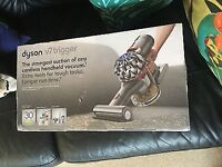Brand new Dyson V7 Trigger Handheld Vacuum Cleaner With reciept + dyson 5 year warranty hoover dison