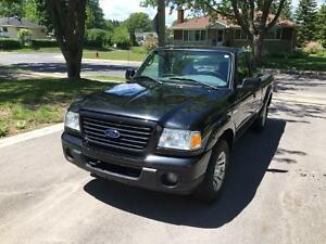 Loaded 2009 Ford Ranger Sport 4x4 Supercab with bedliner
